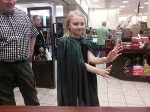 Young Mistborn at Idaho Falls book signing.