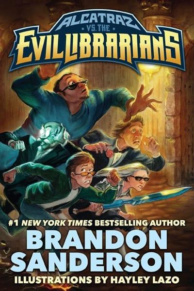 Alcatraz Vs The Evil Librarians Series Brandon Sanderson